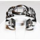Links Steel Ring (sz.8)