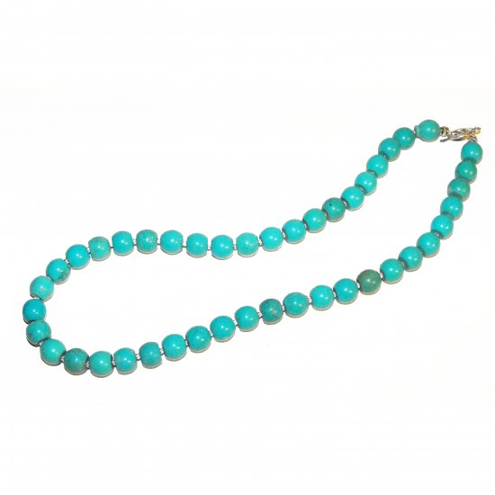 Stablized Turquoise Necklace