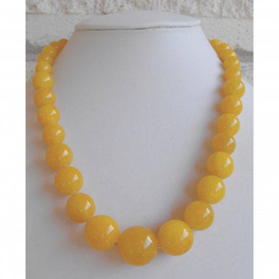 Yellow Quartz Necklace
