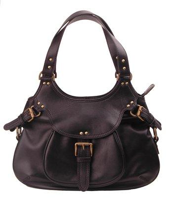 Alexandra Jordan Designer Black Shoulder Bag