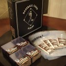 BASEBALL CARD 3 RING ALBUM  25 PAGES 100 TOP LOADER KIT