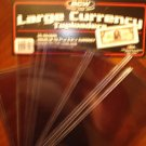 """12 BCW 7 9/16""""X3 1/4"""" RIGID BILL CURRENCY NOTE HOLDERS"""