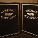 CURRENCY PORTFOLIO album Holds 60 bills large or small