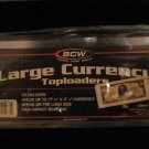 """25  BCW 7 9/16""""X3 1/4"""" DOLLAR BILL CURRENCY NOTE HOLDER"""