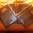 4 H.E.HARRIS COIN ALBUMS 60 POCKETS FOR 2X2 COIN FLIPS