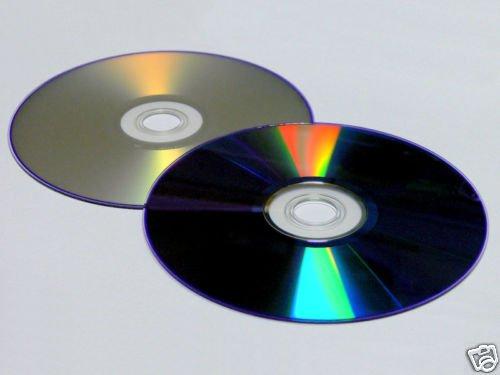 3 disk SILVER InkJet Printable DVD+R DL 8x Dual Layer