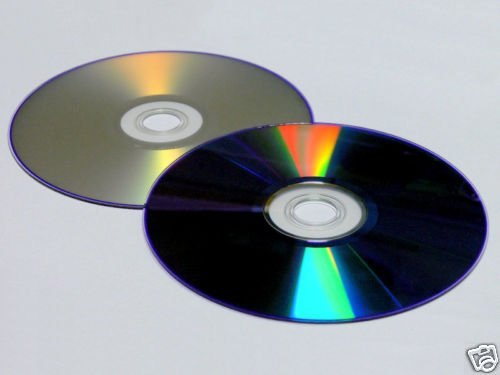 2 disk SILVER InkJet Printable DVD+R DL 8x Dual Layer