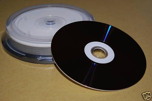 10 pc Disc Hub Printable Blu-ray BD-R 4x 25GB Blank CMC