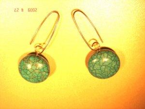 .925 silver turquoise dangle earrings