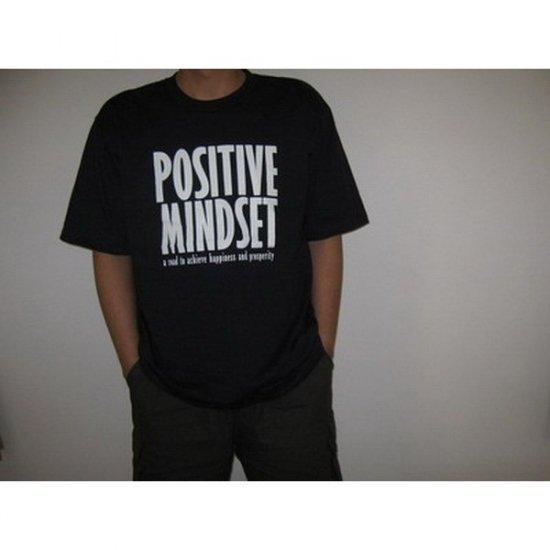 Positive  Mindset  Black T-Shirt