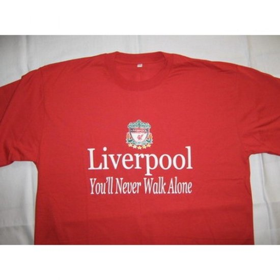 You�ll Never Walk Alone Liverpool - Red T-Shirt