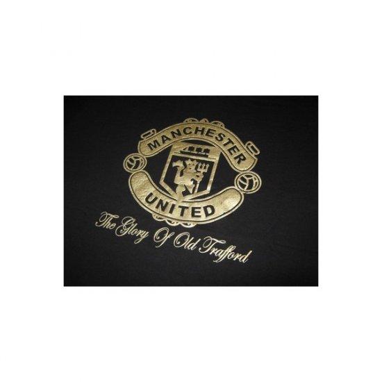 Manchester United  - Black T-Shirt