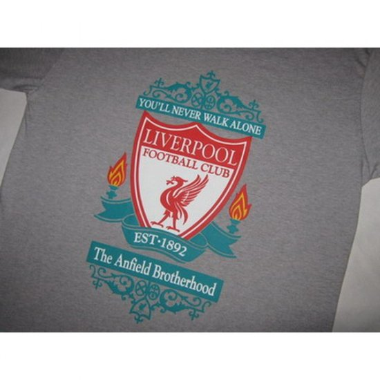 The Anfield Brotherhood Liverpool FC - Grey T-Shirt