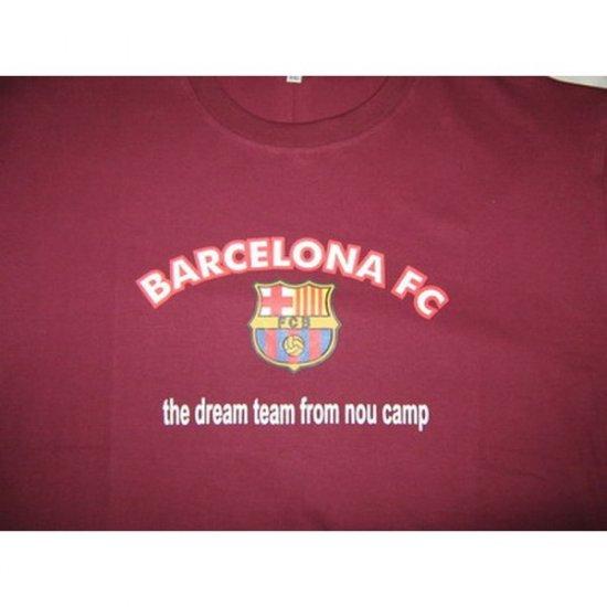 Dream Team from Nou Camp Bracelona FC - Purple T-Shirt