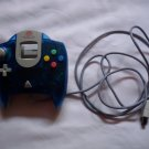 Official Sega Dreamcast Controller Transparent Blue -MINT-