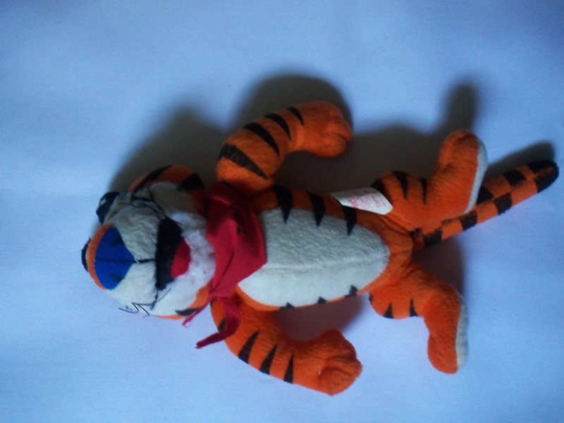 1997 Frosted Flakes Tony the Tiger Cereal Promo Plush Doll -NEW-