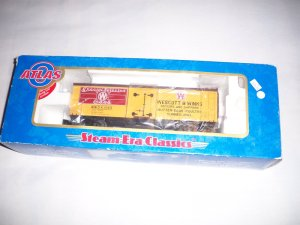Atlas O #1043 Wescott & Winks Woodside Refrigerator Car -NEW-
