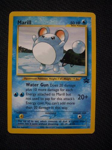 Pokemon 1x Marill (#29 Wizards of the Coast Black Star Promo) SP/NM