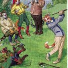 Mainzer - Golf, Golf, Golf - At The Links Postcard