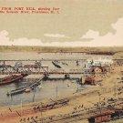 Providence, Rhode Island postcard - Seekonk River - RI (194-195)