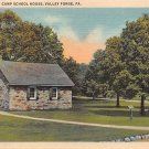 Valley Forge, Pa Old Camp School House (A37)