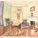 Martha Washington's Sitting Room, Mt Vernon, Va (A46)