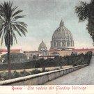 Roma, Rome - Una Veduta del Giardino Vaticano - Italy (A109)