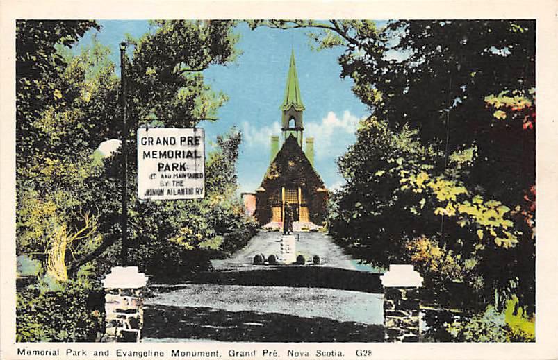 Grand Pre, Memorial Park, Nova Scotia, Canada (A259)