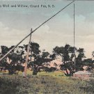Grand Pre, Evangeline's Well and Willow, Nova Scotia, Canada (A271)