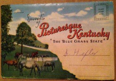 Pictursque Kentucky, Souvenir Folder, 18 views (Folder_A1950)