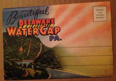 Delaware Water Gap, PA Souvenir Folder -18 views (Folder_A1947)