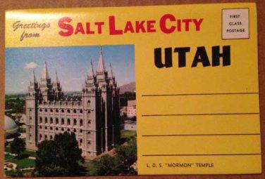 Salt Lake City, Utah Mormon Temple -12 views (Folder_A1942)