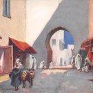 Tuck - Morocco The Sok Gate, Mogador (A546-547)