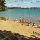 Culver, Indiana - Beach Lodge Postcard (A437)