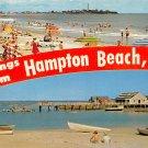 Hampton Beach, NH, Yacht Club Postcard (A439)