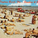 Daytona Beach, Sunshine & Sand, Florida Postcard (A448)