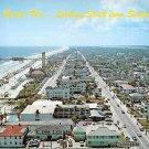 Daytona Beach, Looking South Seabreeze Blvd. Florida Postcard (A450)