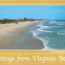 Virginia Beach, VA - Sandbridge Beach Postcard (A458)