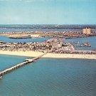 Clearwater Beach, Florida Aerial View 1967 Postcard (A459)