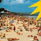 Miami Beach, Florida - Public Beach Postcard (A469)