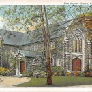 Ridgewood, New Jersey, NJ First Baptist Church 1941 (A474)