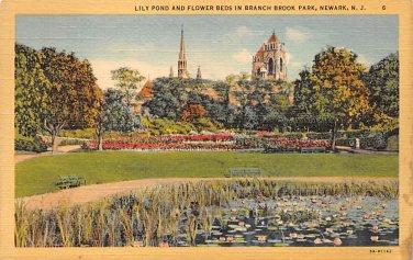 Newark, New Jersey, NJ Branch Brook Park 1943 (A481)