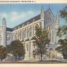 Princeton University Chapel, NJ Postcard -1943 (A493)