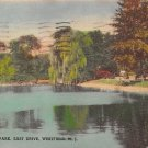 Westfield, NJ Postcard - Mindowaskin Park 1937 (A500)