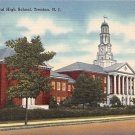 Trenton, NJ Postcard - Central High School 1948 (A501)