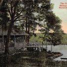 Norwich, Conn, CT Postcard - Pavillion Mohegan Park 1914 (A595)