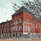New London, Conn, CT Postcard - Armory 1911 (A597)
