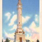 New Haven Conn, CT Postcard Soldiers' Monument 1940 (A622)