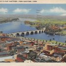 East Hartford, Conn, CT Postcard - Aerial View 1945(A628)