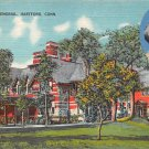 Hartford, Conn, CT Postcard - Mark Twain Memorial 1954 (A630)